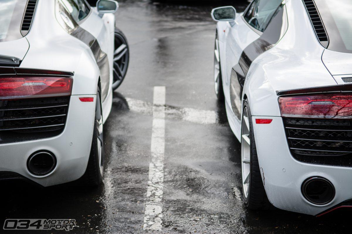 Audi R8 V10 Supercar Pair