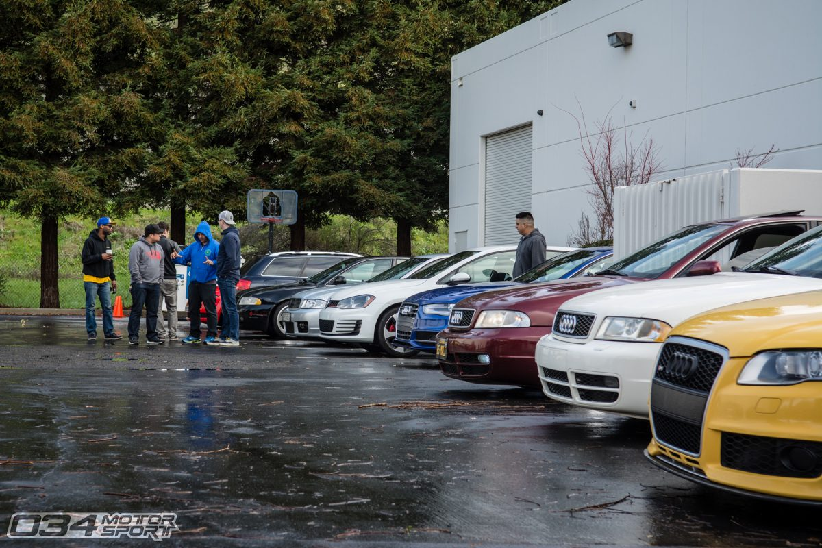Generations of modified Audi S4