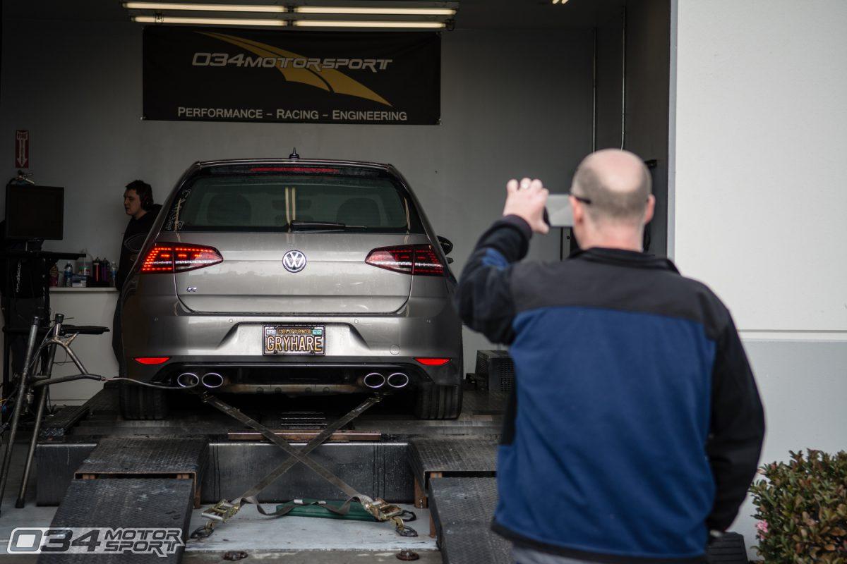 Tuned Mk7 VW Golf R Dyno