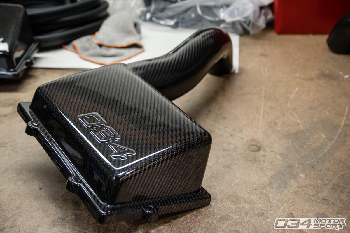 8V Audi & Mk7 Volkswagen Carbon Fiber Cold Air Intake