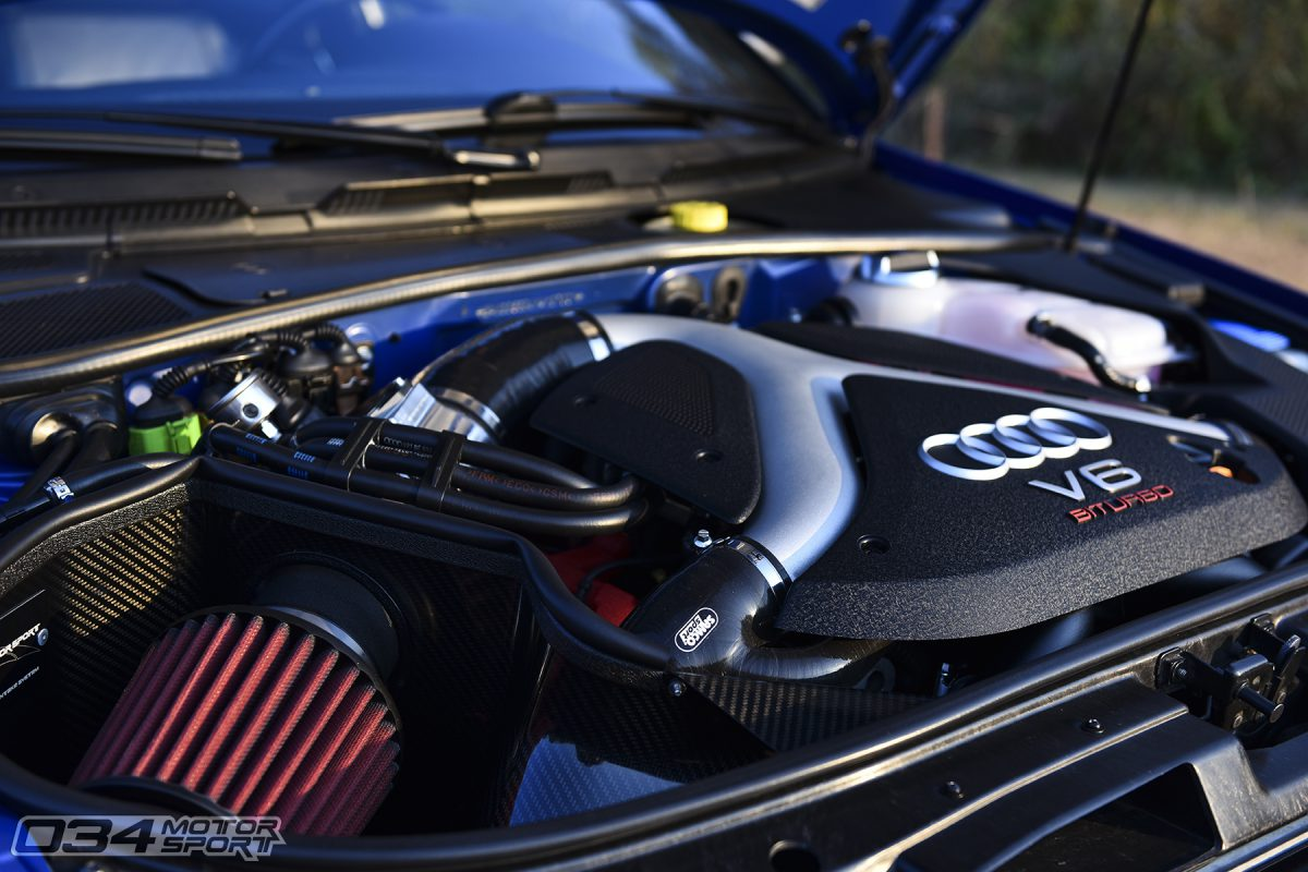 Stage 3 K04 B5 S4 with Cold Air Intake
