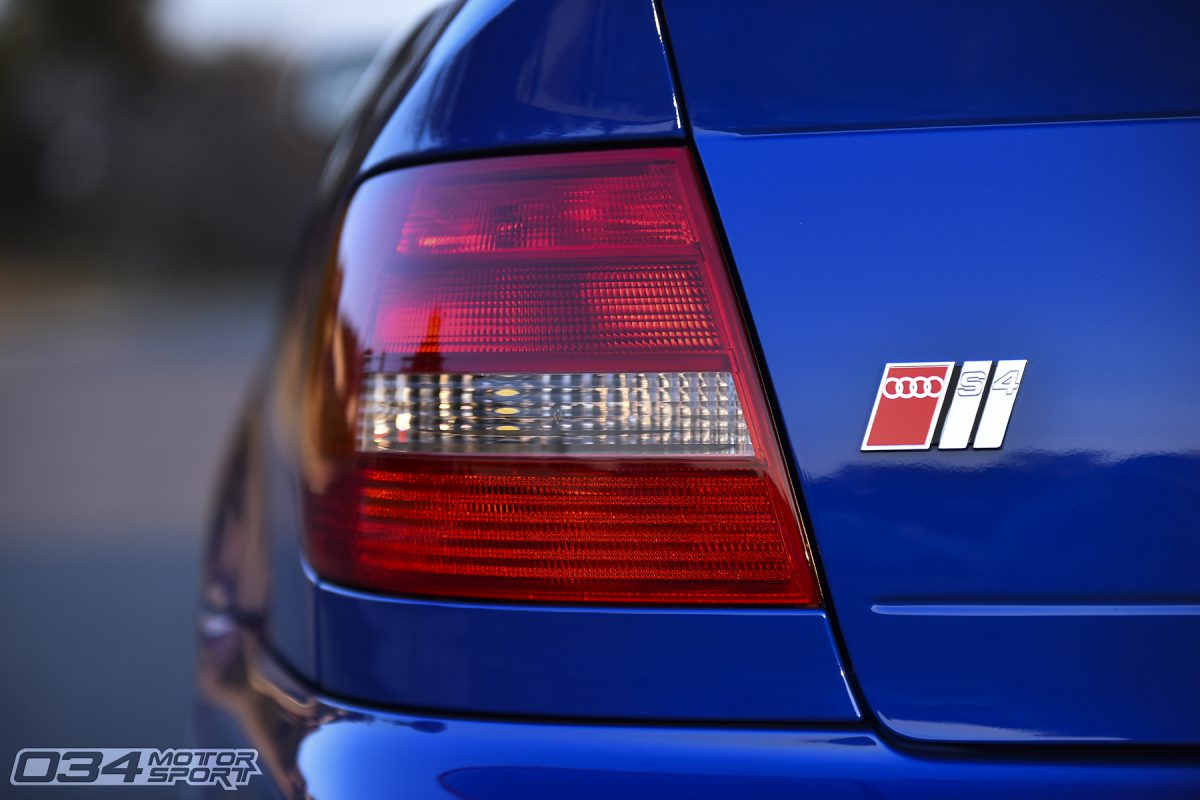 2000 Audi Stage 3 S4 in Nogaro Blue