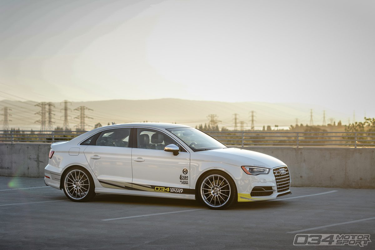Lowered 8V Audi S3 2.0T Quattro