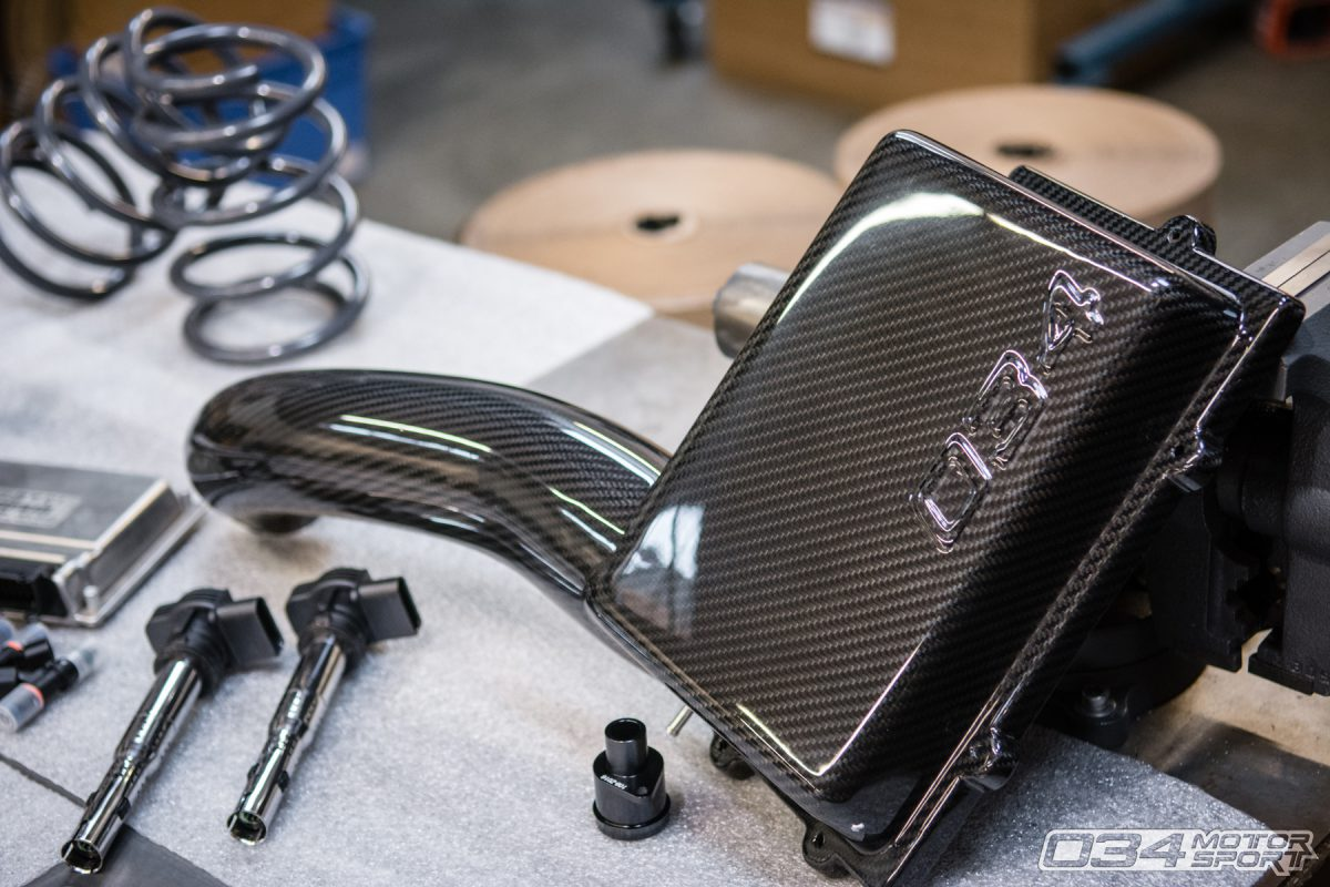 034Motorsport MQB X34 Carbon Fiber Cold Air Intake System
