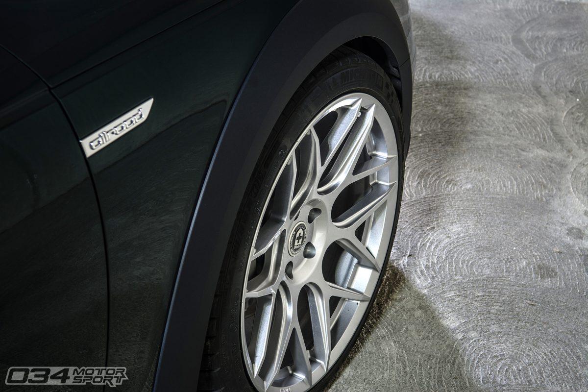 Liquid Silver HRE FlowForm FF01 Wheels on B9 Audi