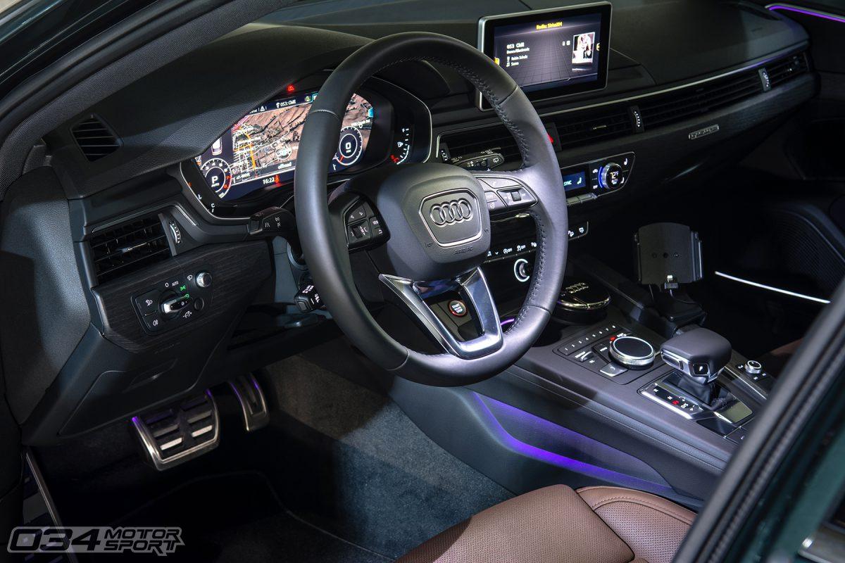 Audi Virtual Cockpit in B9 Audi Allroad