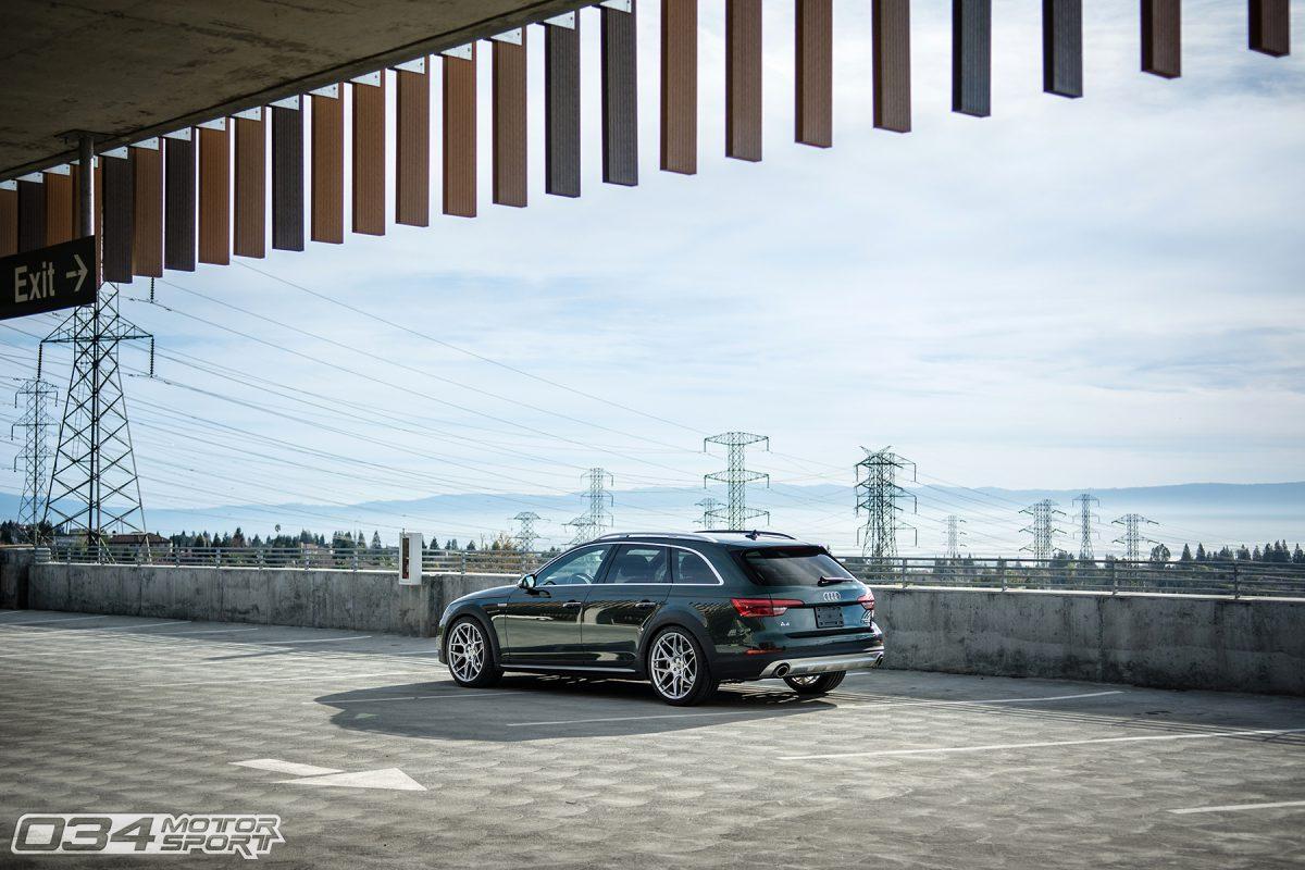 B9 Audi Allroad lowered on HRE Flowform FF01 Wheels