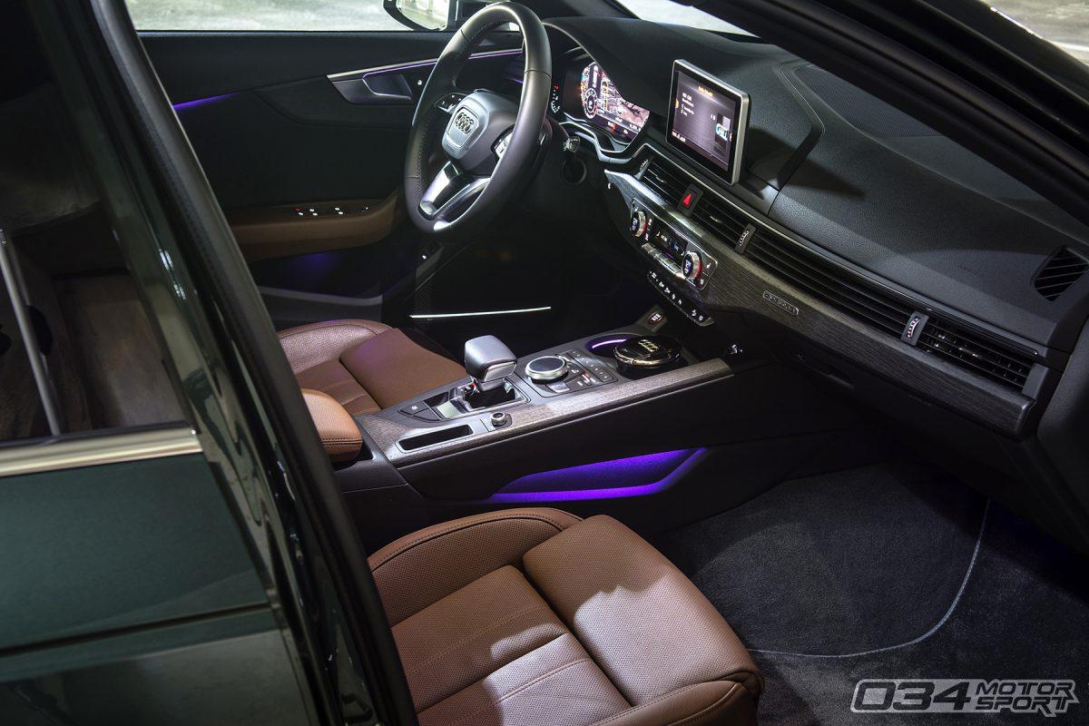 Gotland Green Metallic Audi B9 Allroad