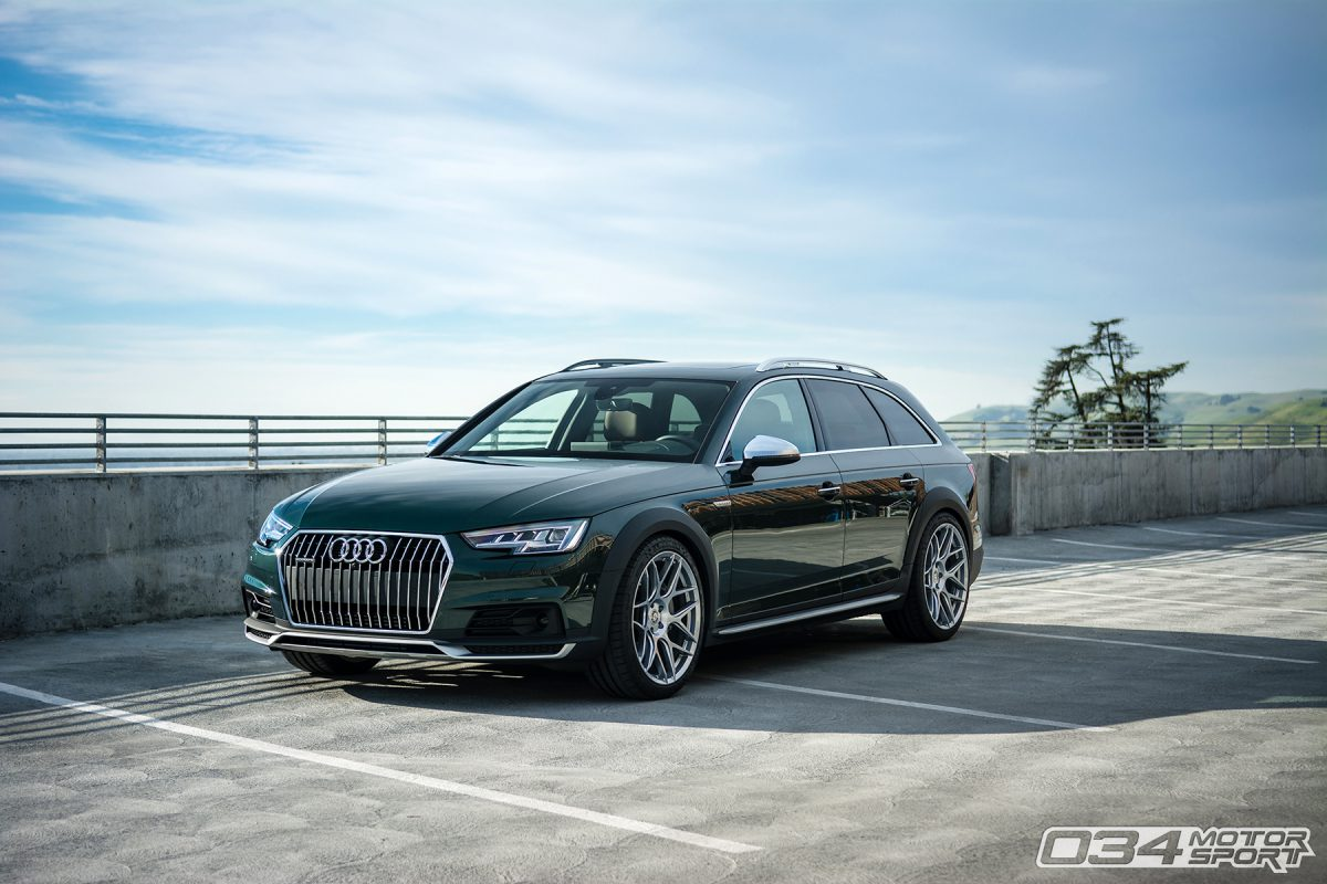 Jaron's Glorious Gotland Green B9 Audi Allroad - 034Motorsport Blog