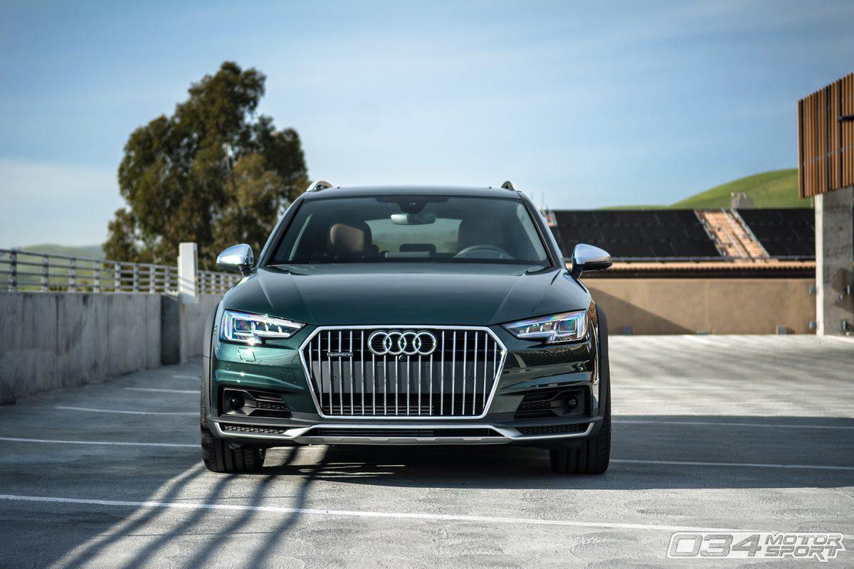 Lowered Audi B9 Allroad