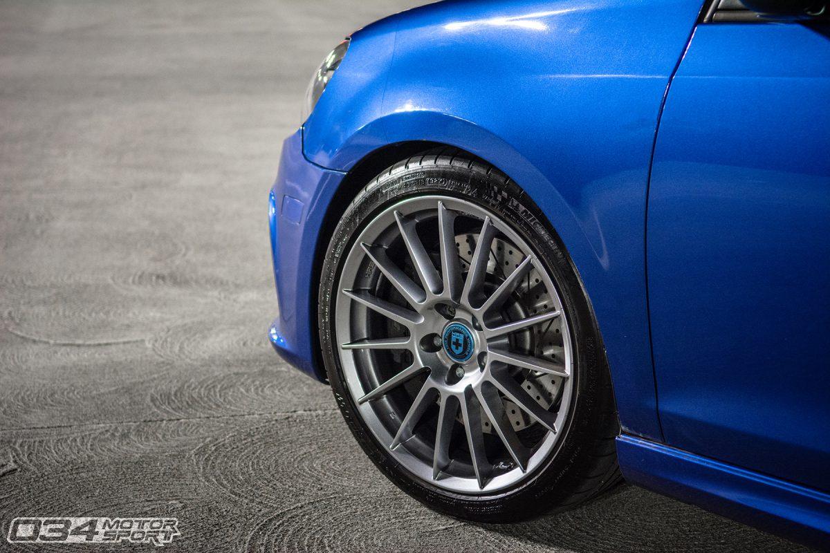 HRE FlowForm FF15 Wheels on Lowered MkVI Volkswagen Golf R