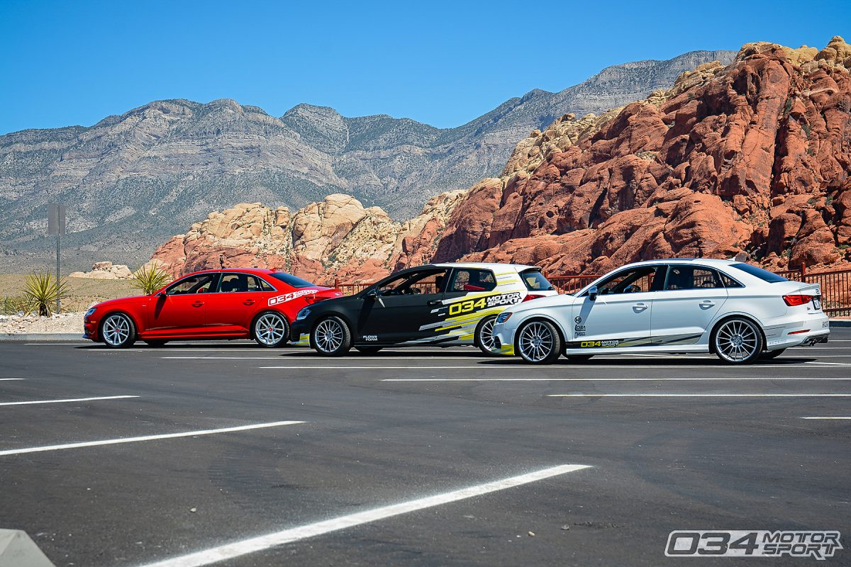 034Motorsport Development Vehicles in California Desert