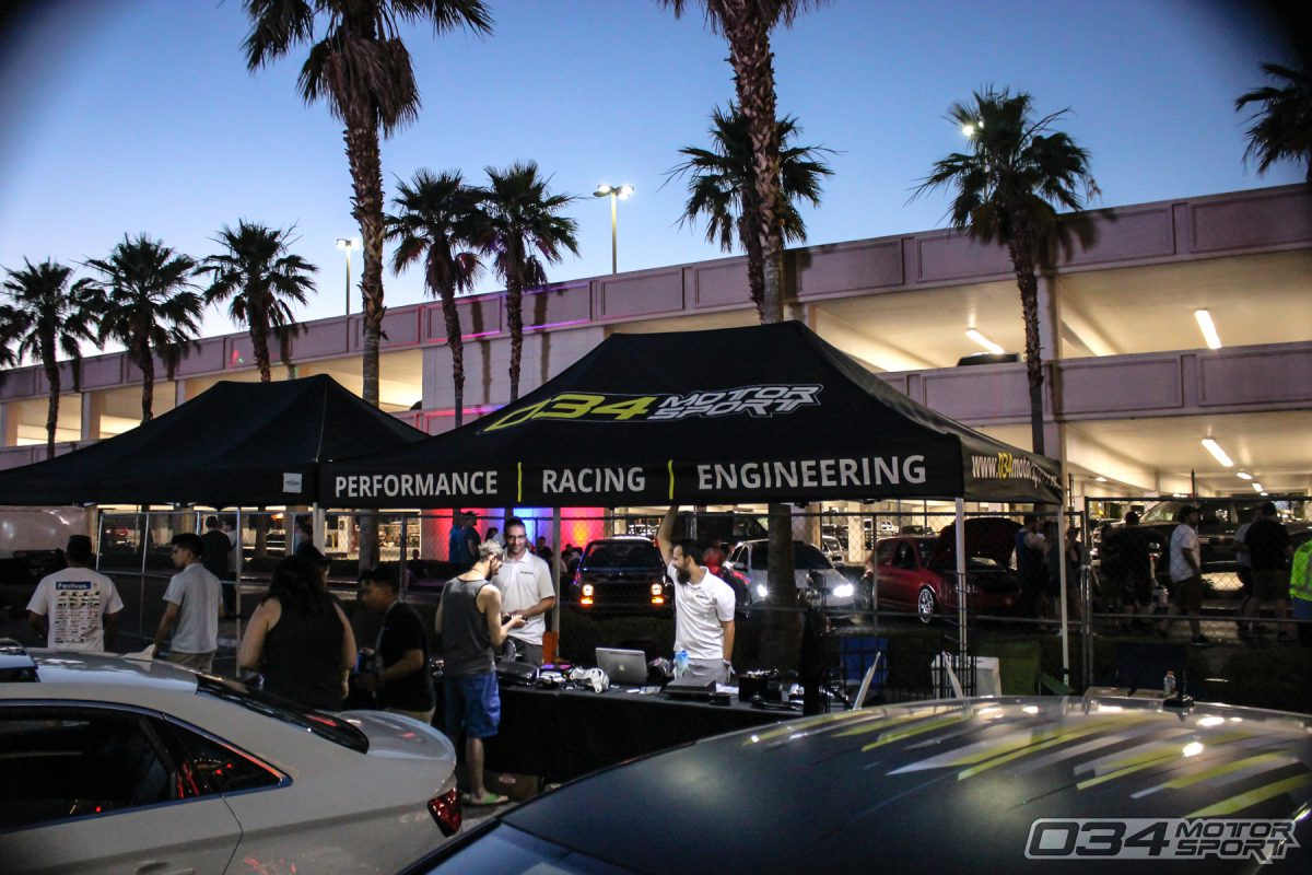 034Motorsport Booth at Wuste Vegas European Car Show 2017