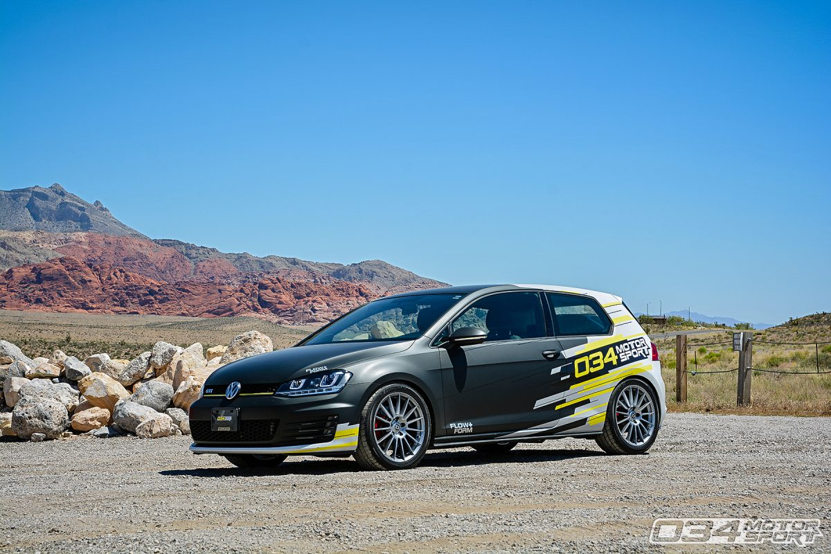 034Motorsport Project Mk7 Volkswagen GTI on HRE FF15 Wheels