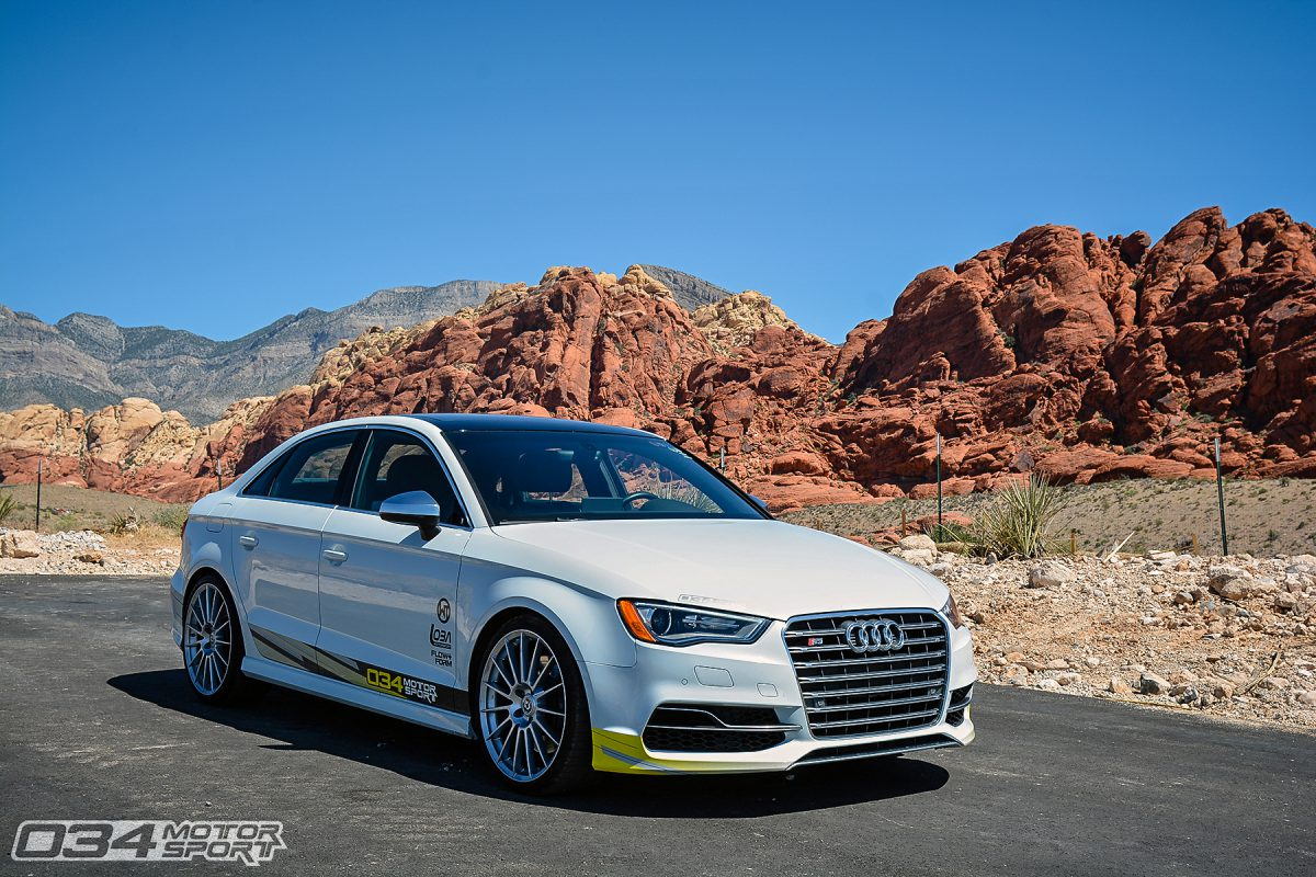 034Motorsport R460 8V Audi S3 on HRE FF15 Wheels