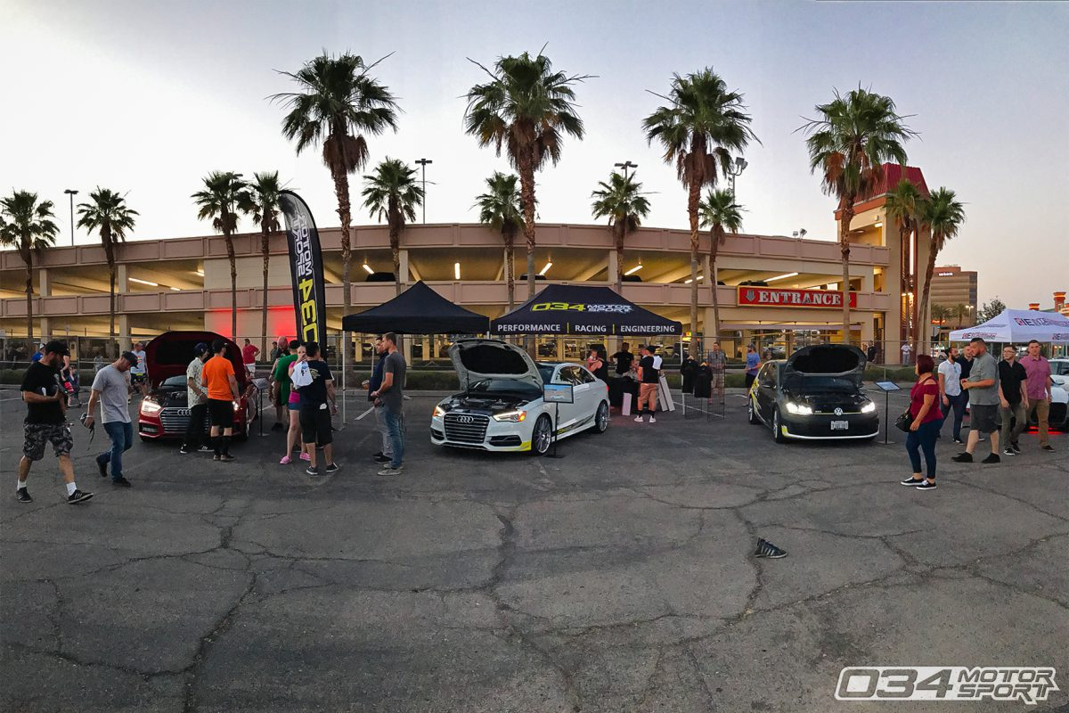 034Motorsport Vendor Booth at Wuste Vegas 2017