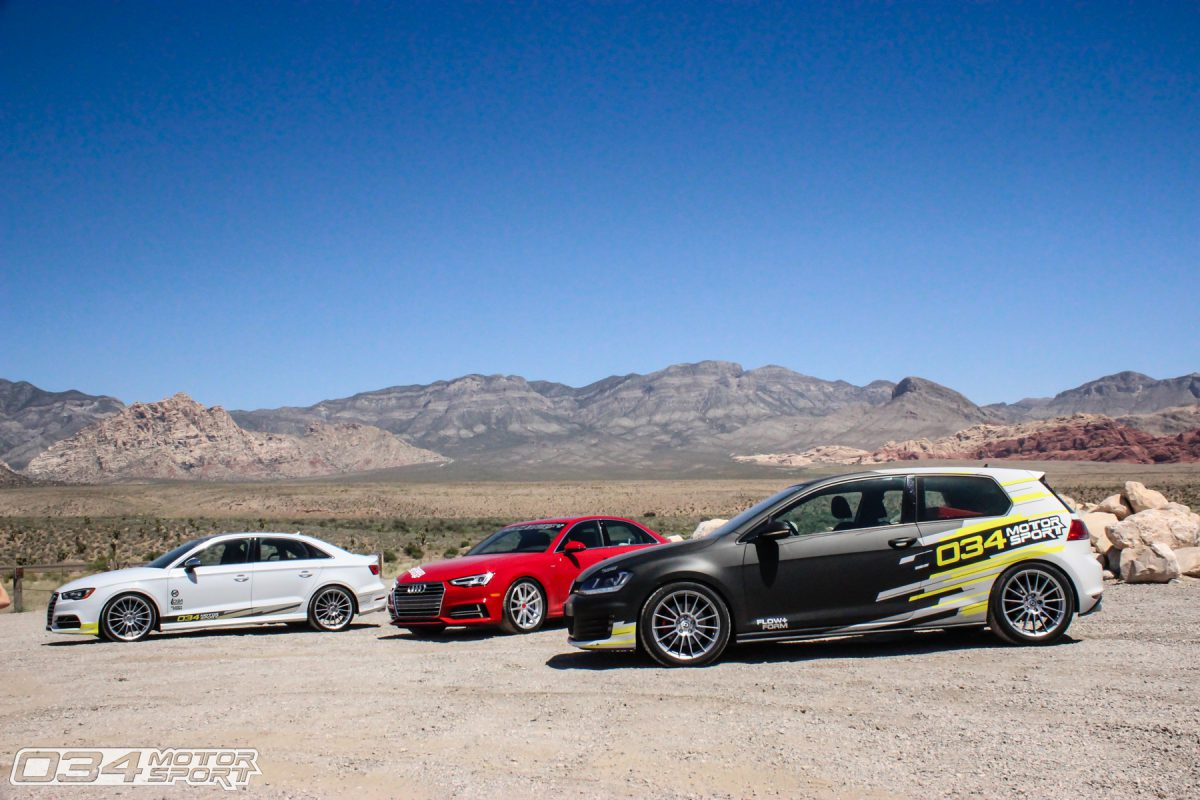 034Motorsport Development Vehicles on a Roadtip to Wuste Vegas
