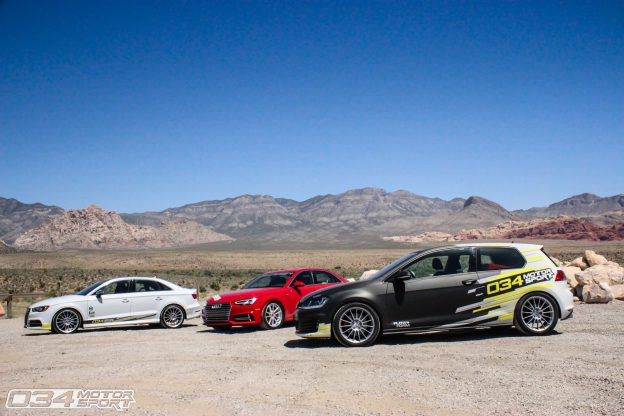 034Motorsport Development Vehicles on a Roadtip to Wuste Vegas