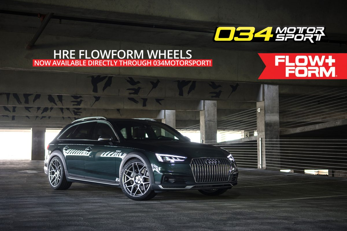 B9 Audi Allroad lowered on HRE FlowForm FF01 Wheels