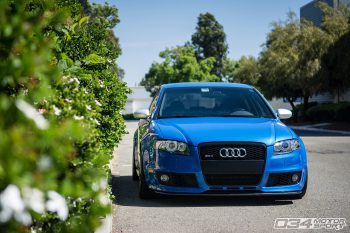 Arturo's Scintillating Sprint Blue B7 Audi RS4