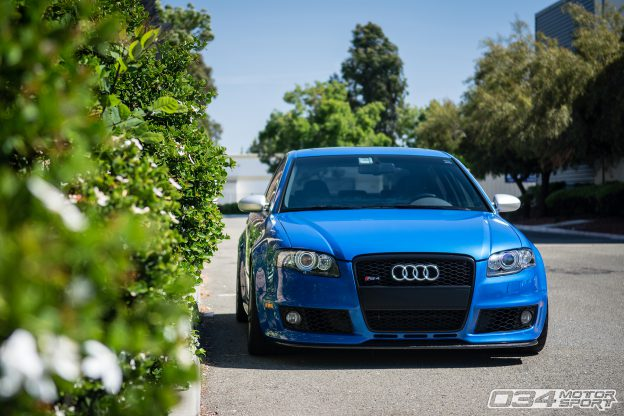 Lowered B7 RS4 on KW V3 Coilovers