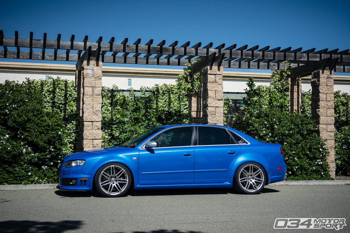 Modified Sprint Blue B7 Audi RS4
