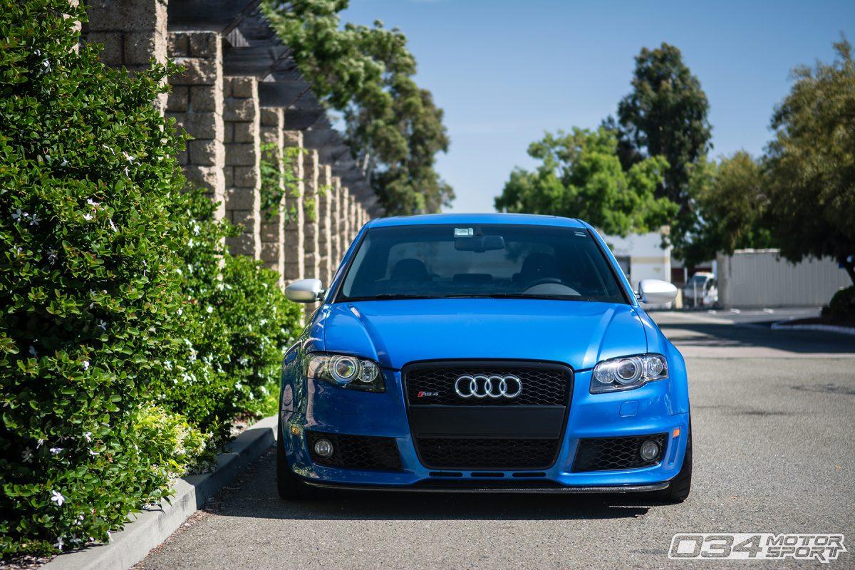 Audi Rs4 B9 >> Arturo's Scintillating Sprint Blue B7 Audi RS4 - 034Motorsport Blog