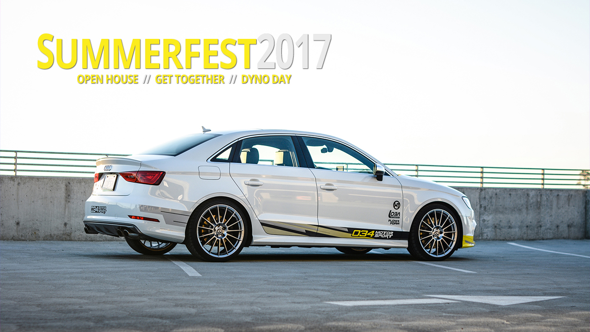 SummerFest 2017 at 034Motorsport - Bay Area Audi/Volkswagen Meet & Greet