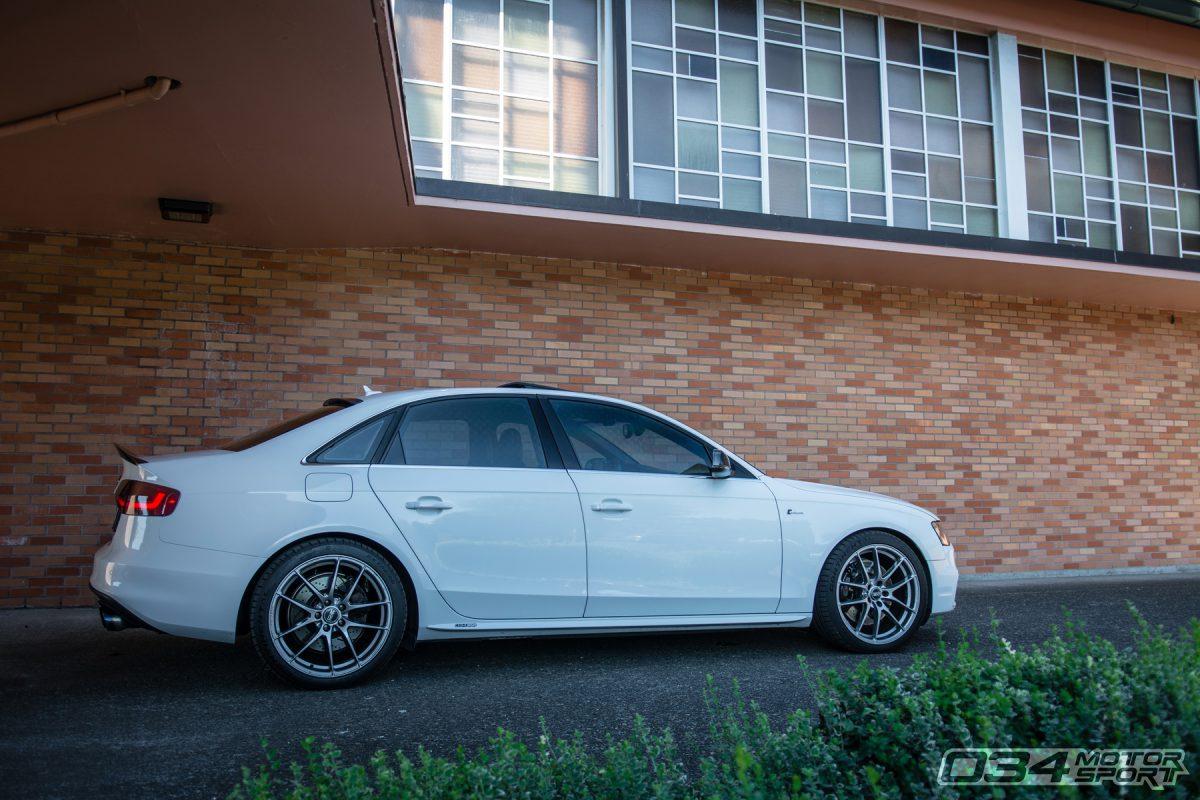 Modded Glacier White B8.5 Audi S4