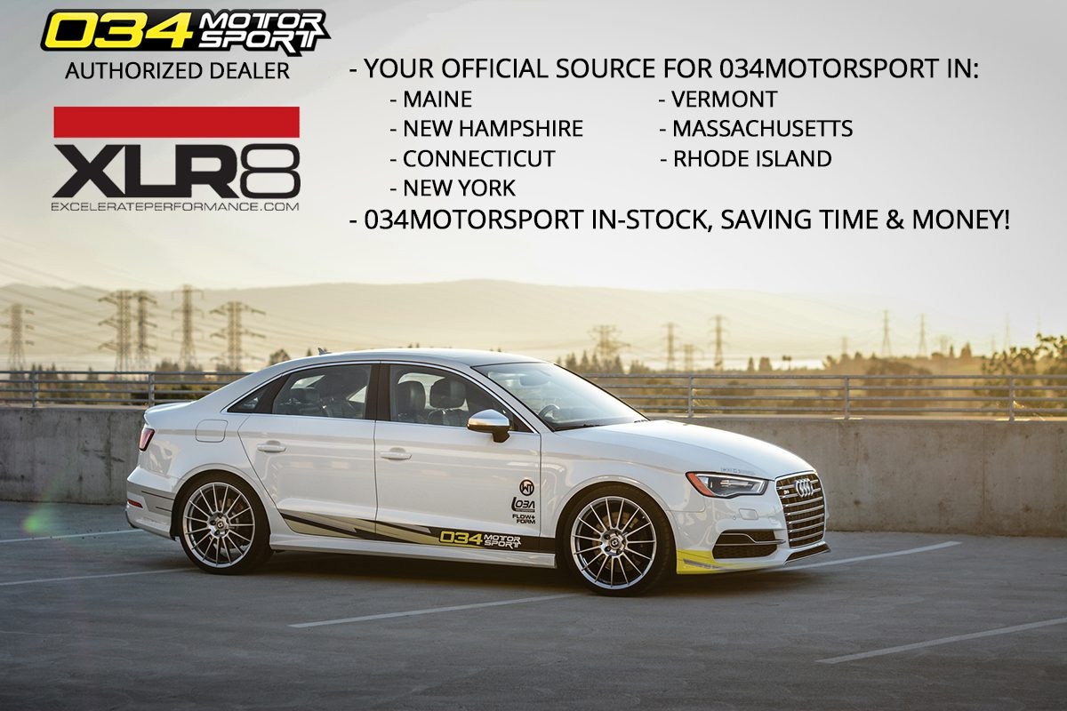 Excelerate Performance Now an Official Distributor for 034Motorsport