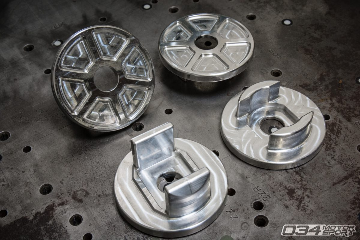 Billet Aluminum Rear Subframe Insert Set for B8/B8.5 Audi S4