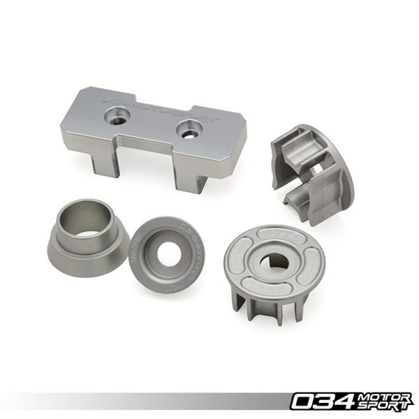 Billet Aluminum Drivetrain Mount Insert Package for B8/B8.5 Audi