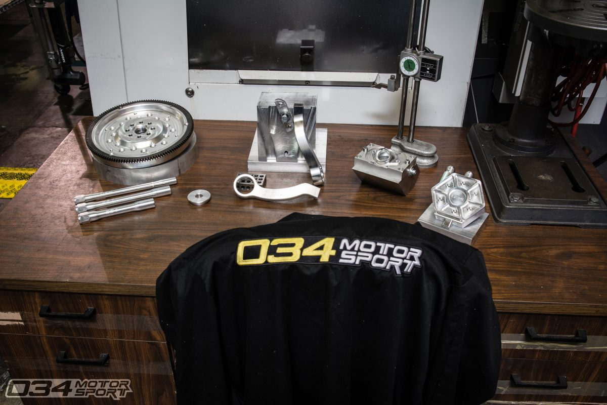 034Motorsport Machining Department Display at SummerFest