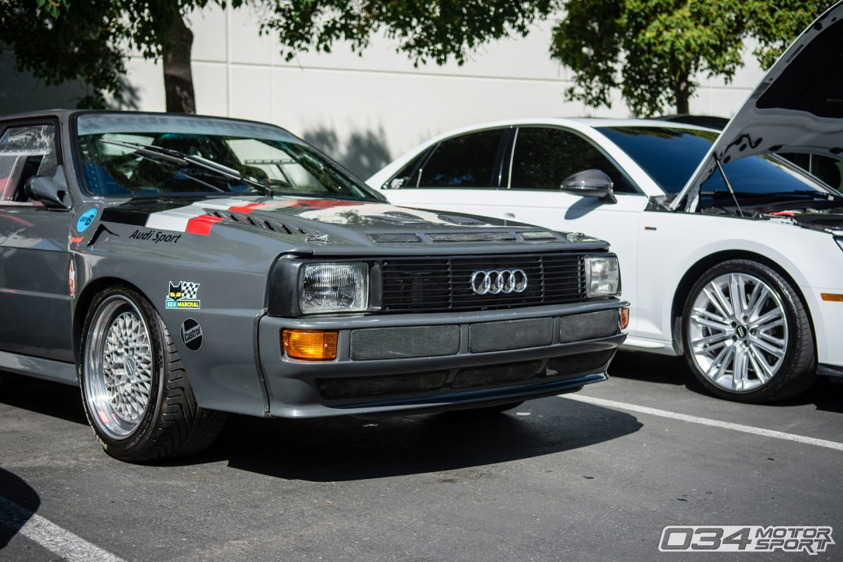 Audi Sport Quattro Conversion and B9 Audi S4 at 034Motorsport SummerFest