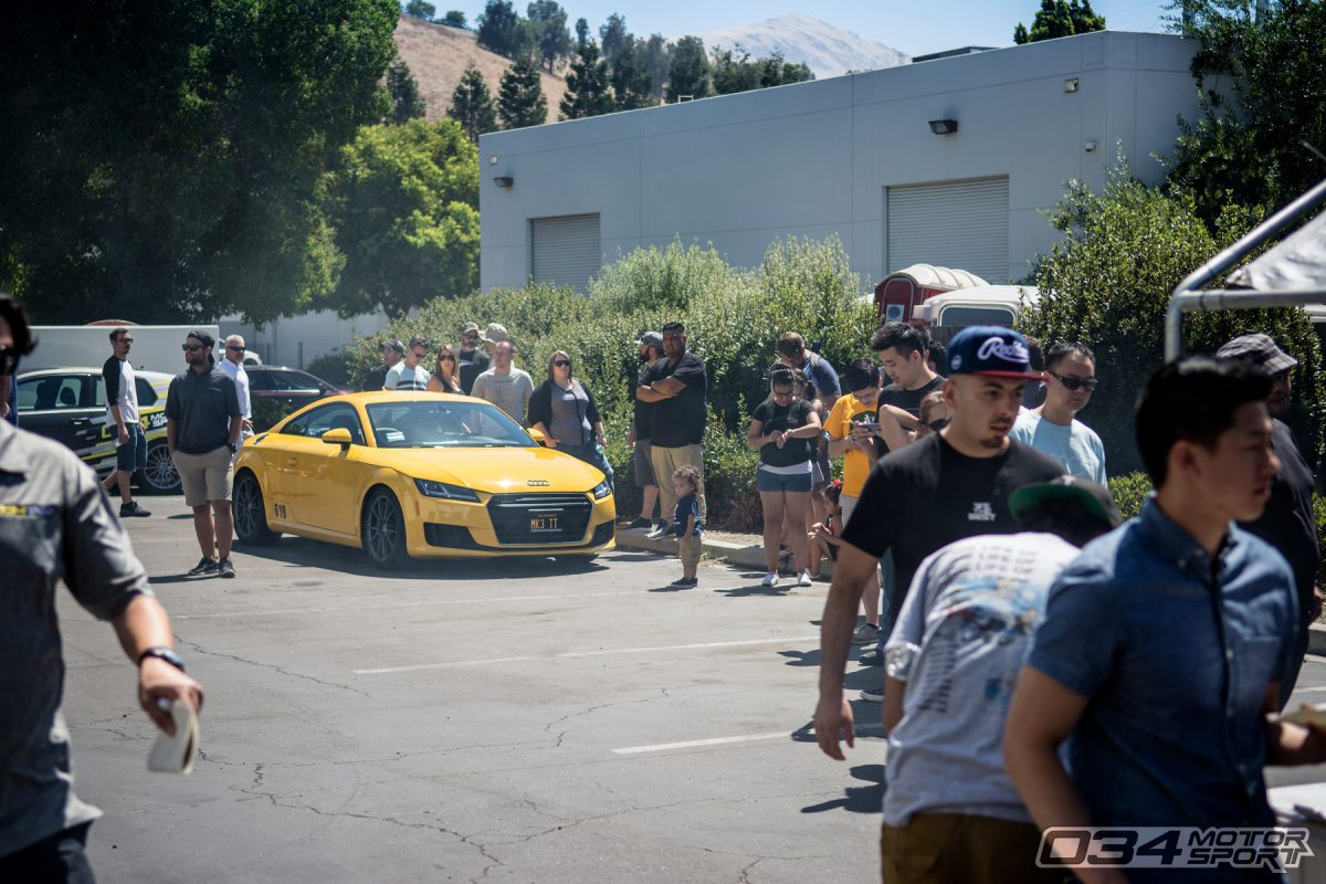 034Motorsport SummerFest BBQ and Dyno Day with Mk3 Audi TT