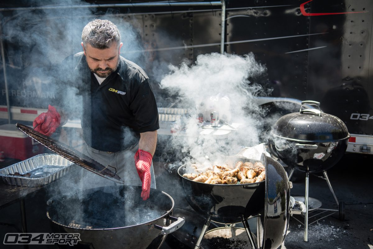 Javad Shadzi, President and Founder of 034Motorsport, Barbecues