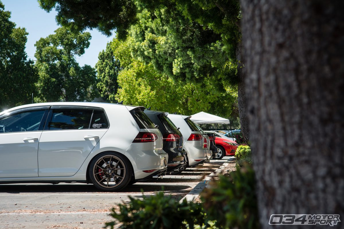 Mk7 Volkswagen GTI at 034Motorsport SummerFest