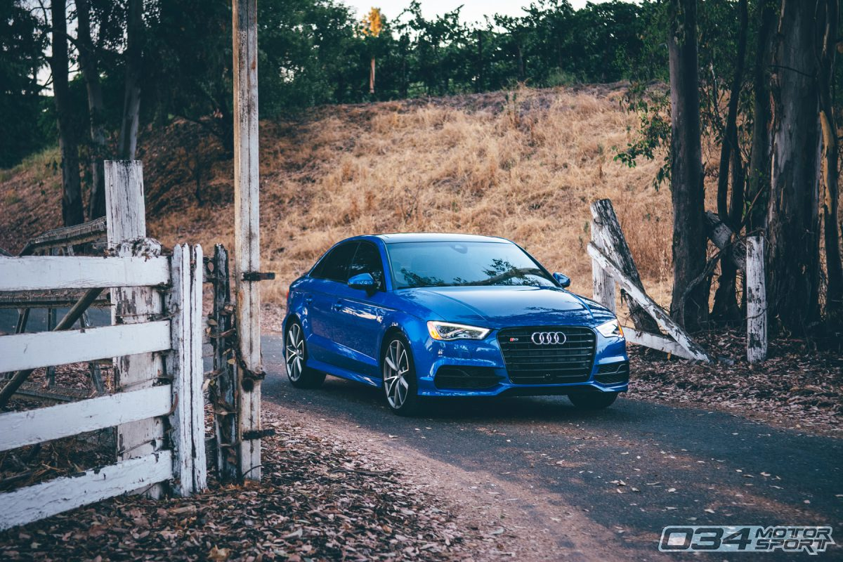 Sepang Blue 8V Audi S3 with R460 Turbo Kit
