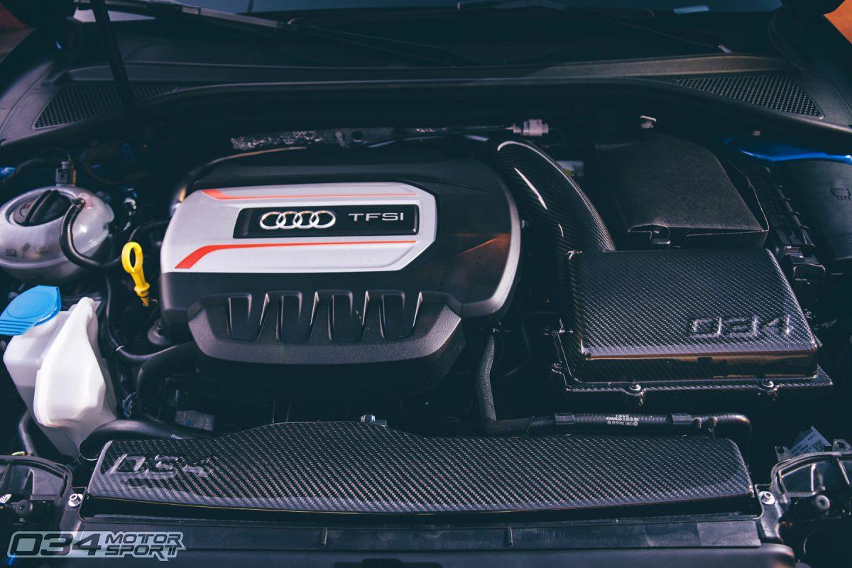 034Motorsport 8V Audi S3 X34 Carbon Fiber Intake