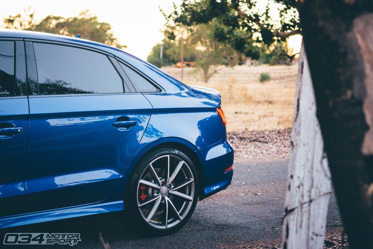 Tuned Sepang Blue Pearl 8V Audi S3