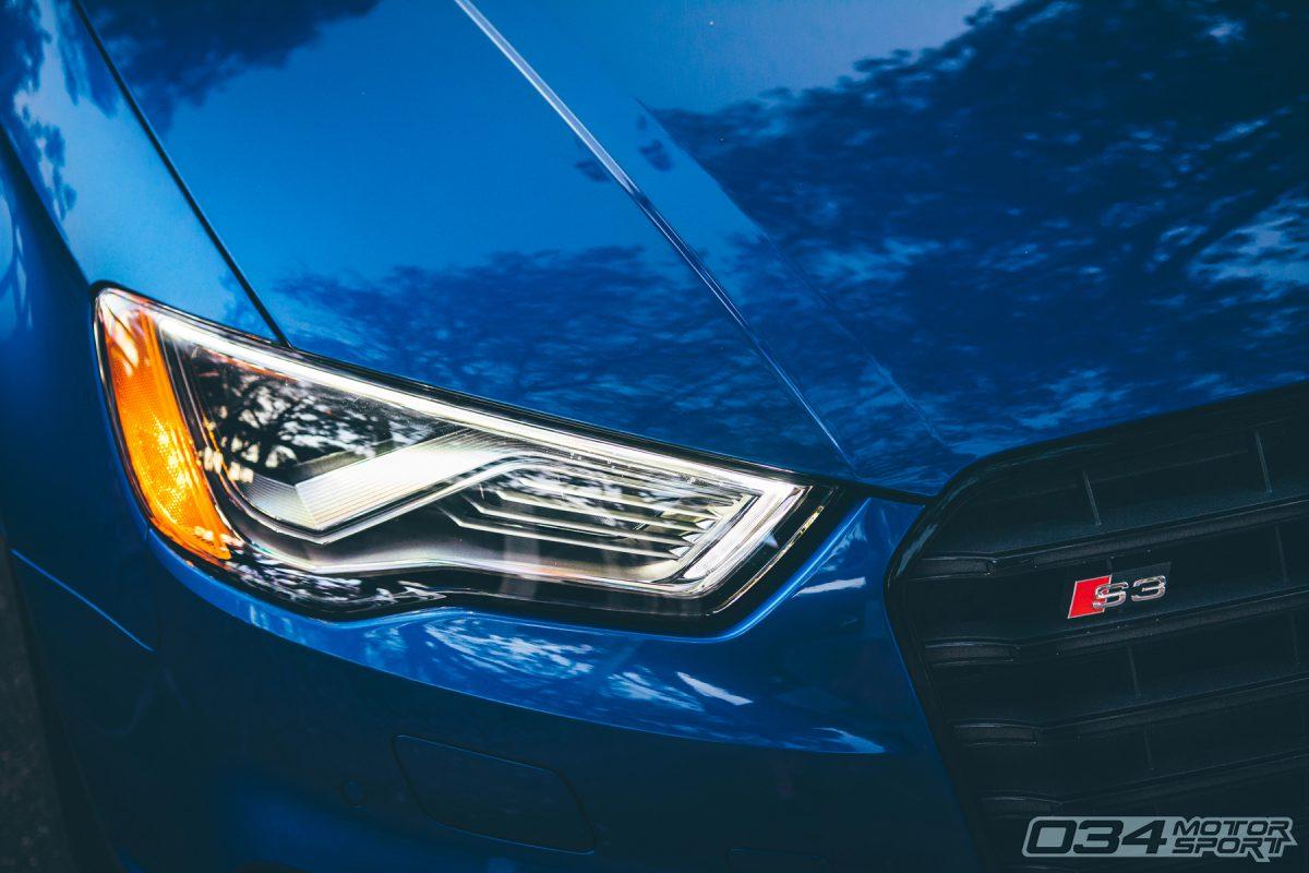 Sepang Blue Pearl 8V Audi S3 (MQB)