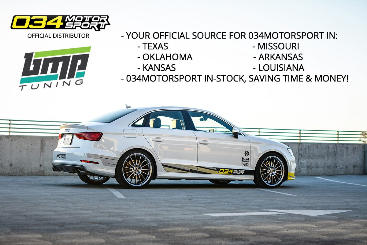 BMP Tuning Now an Official Partner with 034Motorsport in Central-Southern USA