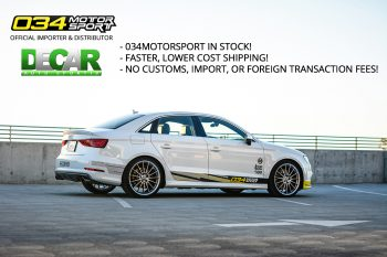 034Motorsport Announces Official Partnership with DeCar Auto Sportiv in Canada