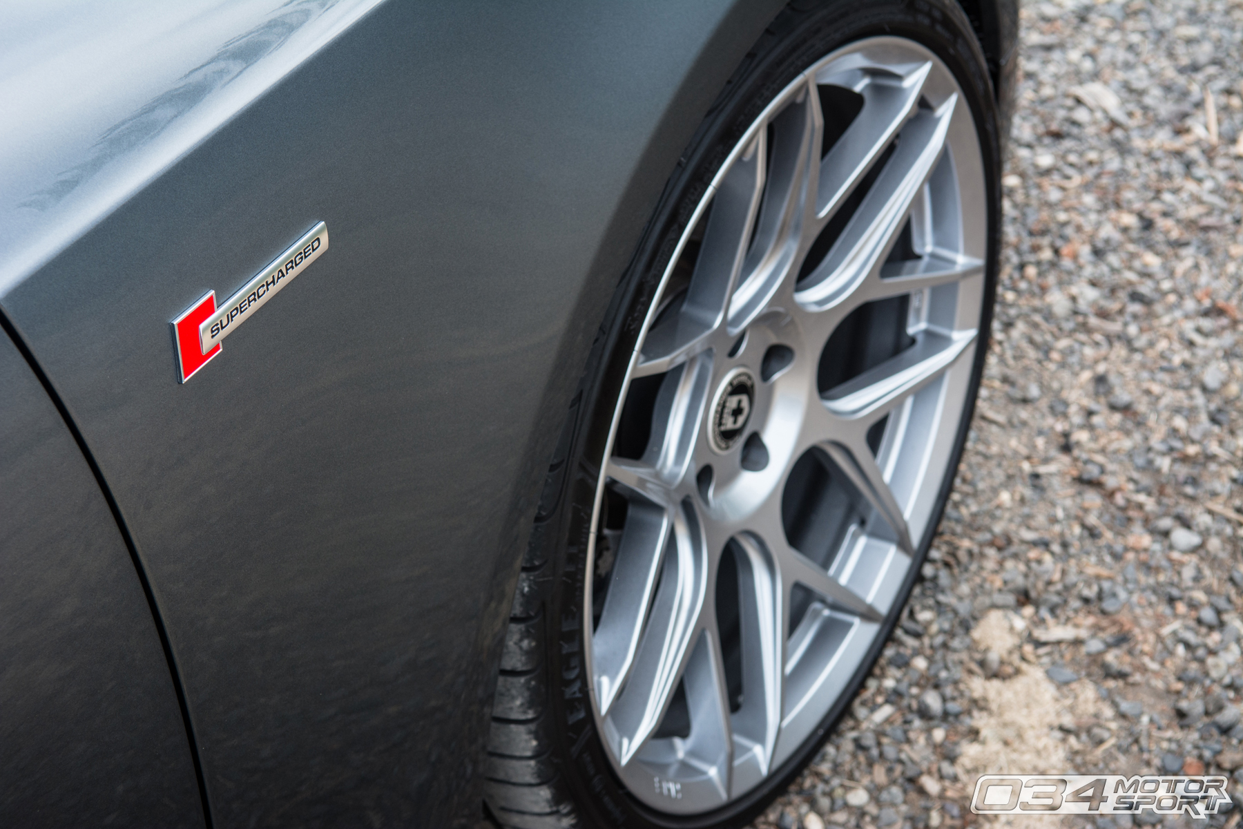 Dual Pulley Tuned Supercharged B8.5 Audi S5