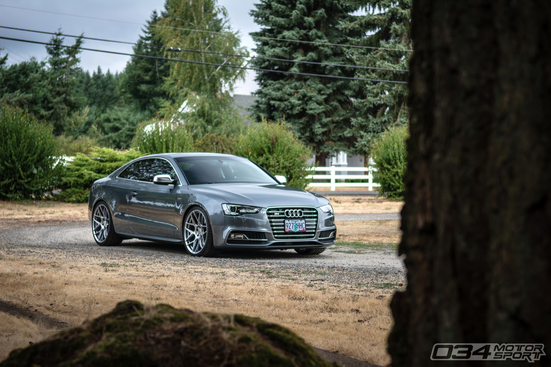 Dual Pulley Monsoon Gray B8.5 Audi S5
