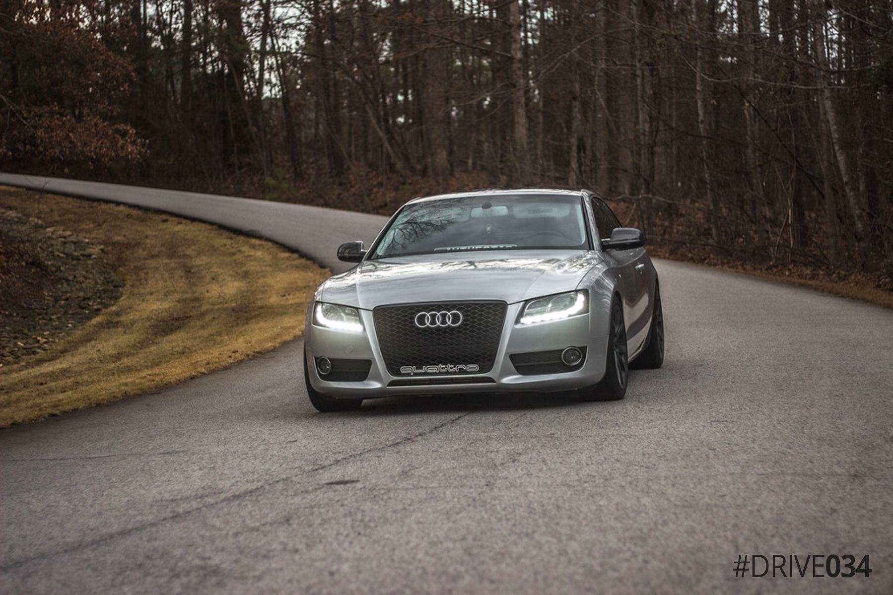 Tuned B8 Audi A5 2.0 TFSI 6-Speed Quattro