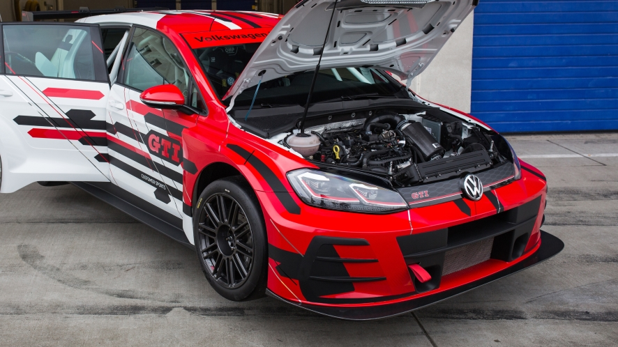 Volkswagen Golf GTI TCR Race Car