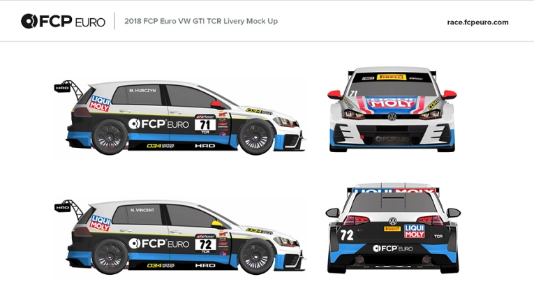 Volkswagen GTI TCR for PWC 2018