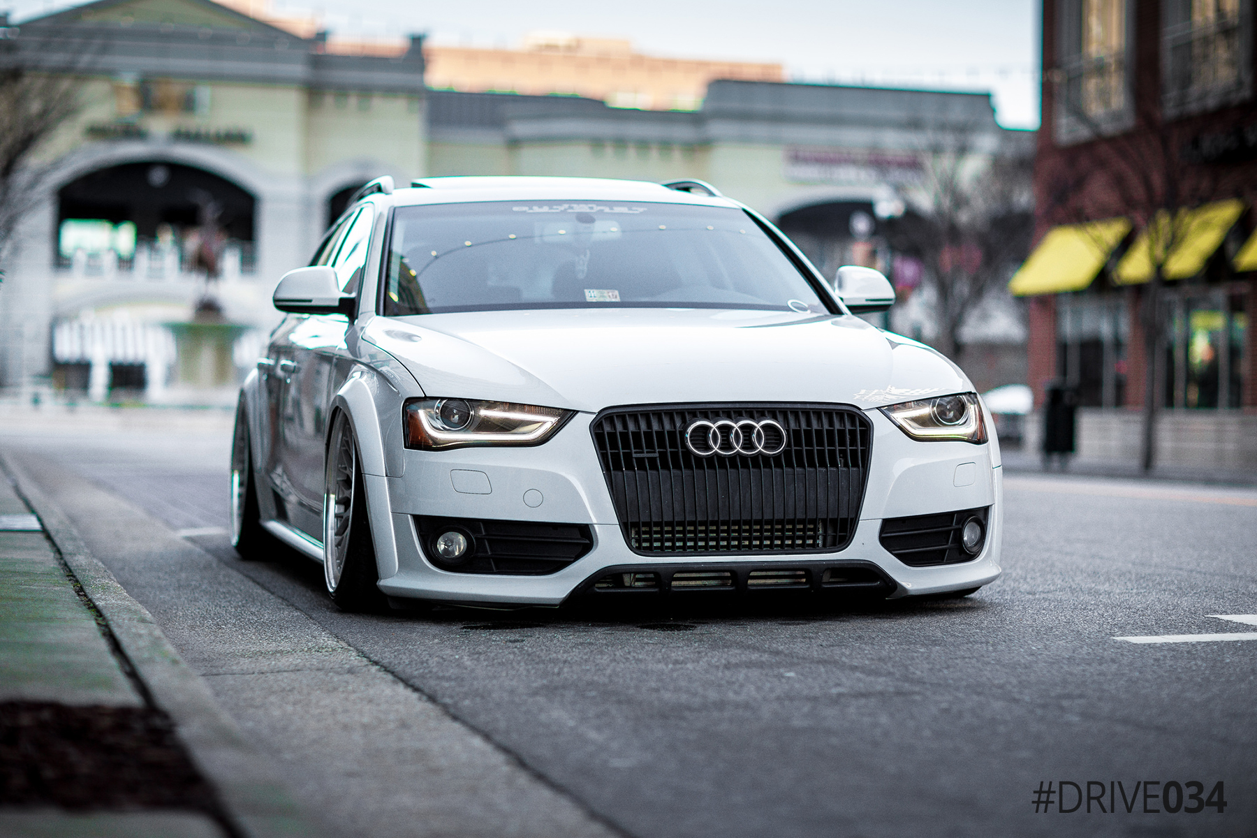 Bagged B8.5 Audi Allroad with Drivetrain Upgrades