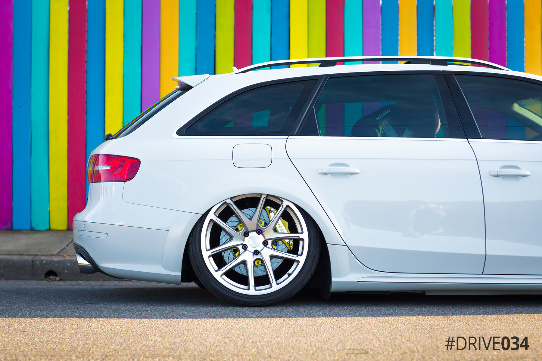 Modded B8.5 Audi Allroad with Rotiform Wheels